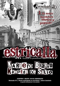 ESTRICALLA + KBKS @ AVV Arrebato  | Zaragoza | Aragón | España