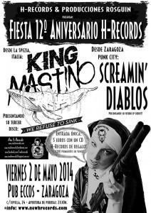 FIESTA 12º ANIVERSARIO H-RECORDS ZARAGOZA @ Pub Eccos | Zaragoza | Aragón | España