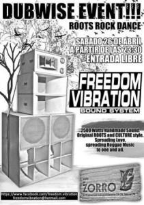 FREEDOM VIBRATION @ PUB EL ZORRO | Zaragoza | Aragón | España