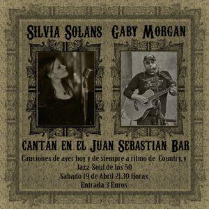 SILVIA SOLANS & GABY MORGAN @ Juan Sebastian Bar  | Zaragoza | Aragón | España