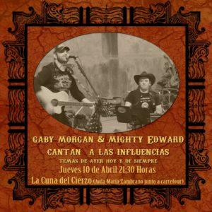 GABY MORGAN & MIGHTY EDWARD @ La Cuna del Cierzo  | Zaragoza | Aragón | España
