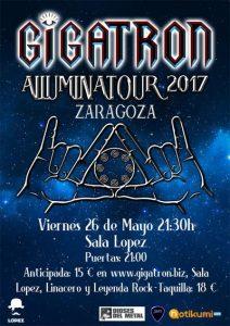 GIGATRON @ SALA LOPEZ | Zaragoza | Aragón | España