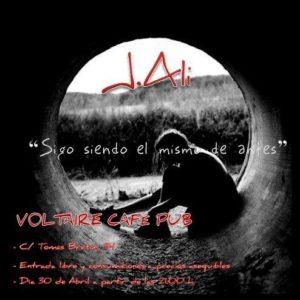 J. ALI @ Cafe Voltaire  | Zaragoza | Aragón | España
