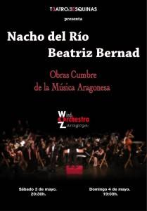 NACHO DEL RÍO Y BEATRIZ BERNAD @ Teatro De Las Esquinas  | Zaragoza | Aragón | España