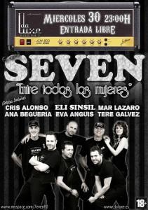 SEVEN  @ DA LUXE CAFE | Zaragoza | Aragón | España