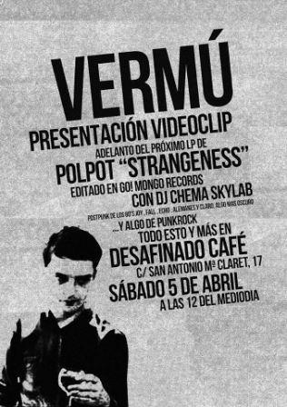 Vermú presentación videoclip Polpot