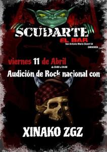 XINAKO @ Scudarte El bar   | Zaragoza | Aragón | España