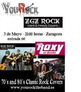 YOUROCK + ZGZ ROCK @ Sala Roxy  | Zaragoza | Aragón | España