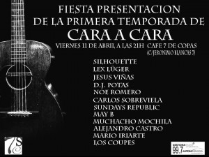 FIESTA PRESENTACION DE LA PRIMERA TEMPORADA DE CARA A CARA @ 7 siete de copas  | Zaragoza | Aragón | España