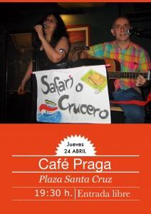SAFARI O CRUCERO @ CAFÉ PRAGA | Zaragoza | Aragón | España
