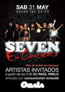 SEVEN @ Oasis Club Teatro | Zaragoza | Aragón | España