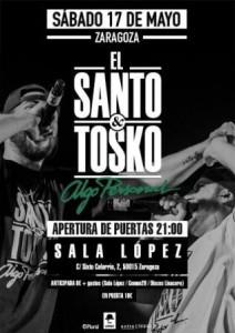 EL SANTO Y TOSKO @ SALA LÓPEZ | Zaragoza | Aragón | España