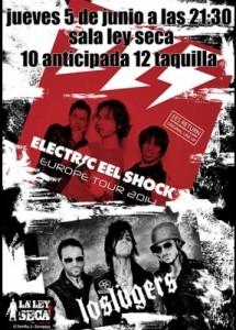 ELECTRIC EEL SHOCK + LOS LÜGERS @ LA LEY SECA | Zaragoza | Aragón | España