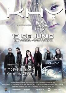 KHY + BLACK HAZE @ SALA UTOPÍA | Zaragoza | Aragón | España