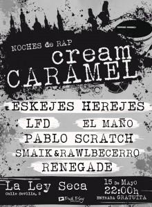 CREAM CARAMEL @ LA LEY SECA  | Zaragoza | Aragón | España