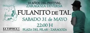 FULANITO DE TAL  @ Plaza del pilar | Zaragoza | Aragón | España