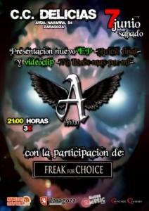 ARIDAY + FREAK FOR CHOICE @ CENTRO CÍVICO DELICIAS | Zaragoza | Aragón | España