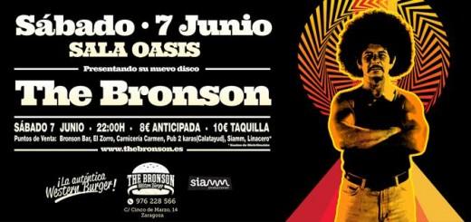 THE BRONSON PRESENTA SU NUEVO DISCO EL DÍA 7 DE JUNIO