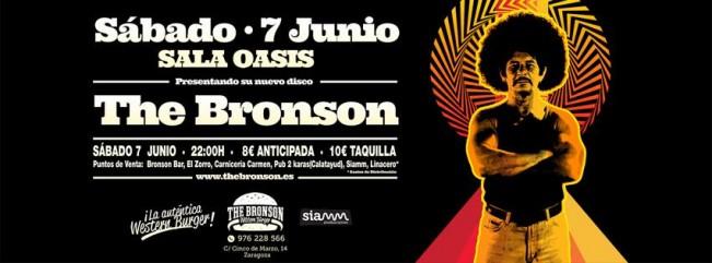 THE BRONSON zgz conciertos