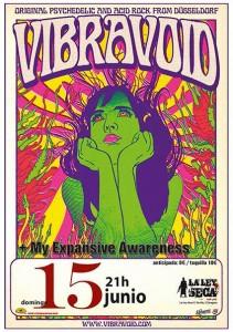 VIBRAVOID + MY EXPENSIVE AWARENESS @ LA LEY SECA   Zaragoza   Aragón   España