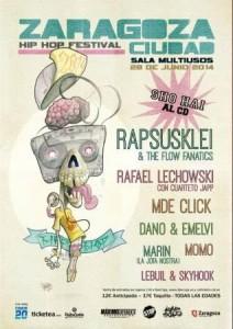 ZARAGOZA CIUDAD 2014 HIP HOP FESTIVAL @ SALA MULTIUSOS | Zaragoza | Aragón | España
