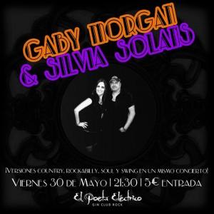 GABY MORGAN Y SILVIA SOLANS @ EL POETA ELÉCTRICO | Zaragoza | Aragón | España