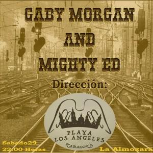 GABY MORGAN & MIGHTY ED @ Playa los angeles | Zaragoza | Aragón | España