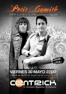 PETIT COMITE @ Centrick Club Café  | Zaragoza | Aragón | España