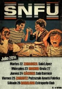 SNFU + BIG HEAD DOWN @ SALA LÓPEZ | Zaragoza | Aragón | España