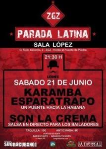 3 FESTIVAL ZGZ PARADA LATINA @ SALA LÓPEZ | Zaragoza | Aragón | España