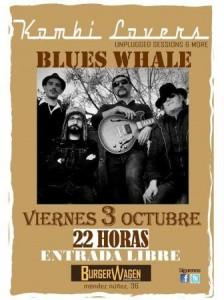 BLUES WHALE @ BURGER WAGEN | Zaragoza | Aragón | España