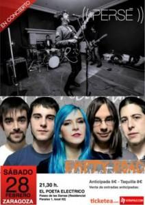 PERSÉ + EMPTY ROAD @ EL POETA ELECTRICO | Zaragoza | Aragón | España