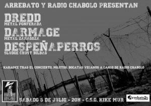 DREDD + DESPEÑAPERROS + DARMAGE @ CSO KIKE MUR