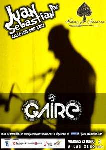 GAIRE @ JUAN SEBASTIAN BAR | Zaragoza | Aragón | España