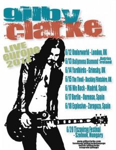 GILBY CLARKE @ Explosivo Club  | Zaragoza | Aragón | España