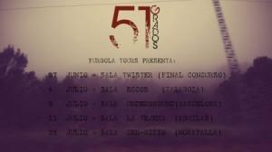 51 GRADOS + SHERIFF @ PUB ECCOS | Zaragoza | Aragón | España