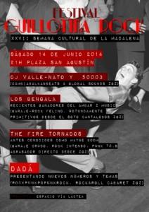GUILLOTINA ROCK @ PLAZA SAN AGUSTIN | Zaragoza | Aragón | España