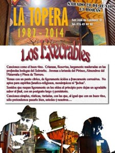 LOS EXECRABLES @  La Topera  | Zaragoza | Aragón | España