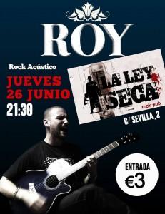 ROY @ La Ley Seca  | Zaragoza | Aragón | España