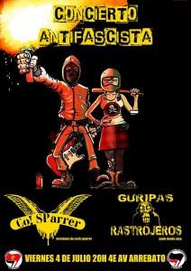 CO! SPARRER Y GURIPAS RASTROJEROS @  AVV Arrebato  | Zaragoza | Aragón | España