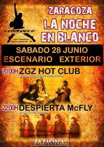 LA NOCHE EN BLANCO @ Sala Creedence  | Zaragoza | Aragón | España