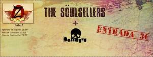 THE SÖULSELLERS + DeNegro @ Sala Z  | Zaragoza | Aragón | España