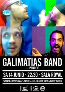 GALIMATIAS BAND + PENDEJO @  Sala Royal  | Zaragoza | Aragón | España