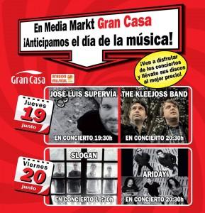 ¡DÍA DE LA MÚSICA! @ Mediamarkt Zaragoza Grancasa | Zaragoza | Aragón | España