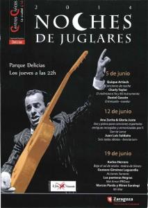 NOCHES DE JUGLARES @ Parque Delicias | Zaragoza | Aragón | España