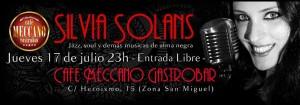 SILVIA SOLANS @ CAFÉ MECCANO | Zaragoza | Aragón | España