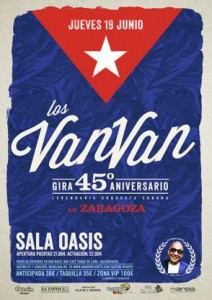 LOS VAN VAN @ SALA OASIS | Zaragoza | Aragón | España