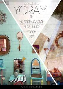 YGRAM @ Mù Restauración  | Zaragoza | Aragón | España