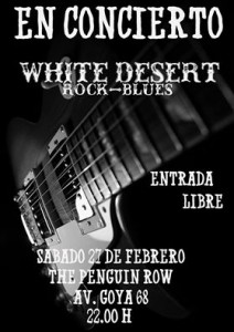 WHITE DESERT @ THE PENGUIN ROW | Zaragoza | Aragón | España
