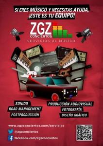 Servicios de produccion zgzconciertos
